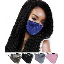 Fashion Shine sequin masks