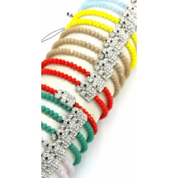 Thread Bracelet - Crystal...