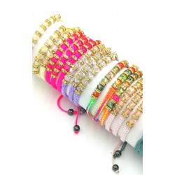 Thread Bracelet - Pearl and...