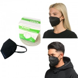 Maschera nera KN95