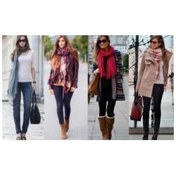 Winter scarves Pashminas MIX