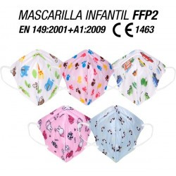 FFP2 NR Children's Mask...