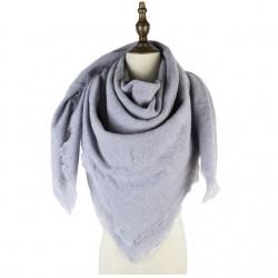 Plain blanket scarf...