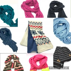 Autumn Scarves - Assorted Lot