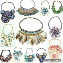 Lot of Boho Ethnic Necklaces