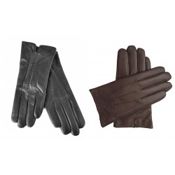 Faux leather gloves fall...