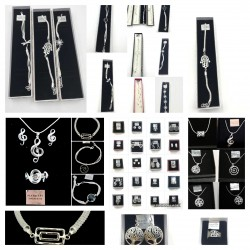 SILVER JEWELRY PLATED MIX