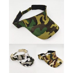 Military camouflage visor