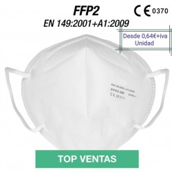 MASK FFP2 WHITE  CE 2163
