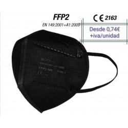 Maschera FFP2 Nera adulto