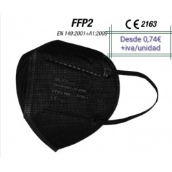 Mask FFP2  Black adult