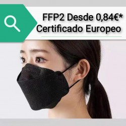 Mask FFP2 NR 6 Layers Black...