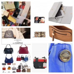 Bags and wallets mix Marca...