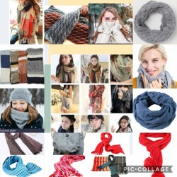 Winter Casual Scarves