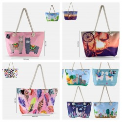 Summer mix models beach bags