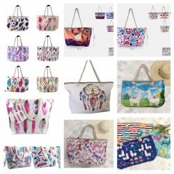 Beach bag assortment lot...