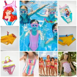 Children's bikinis and...