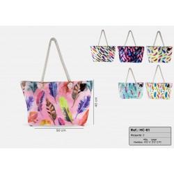 Beach bags Plumas models