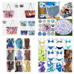 BAG BEACH / BIKINI / PAREO...