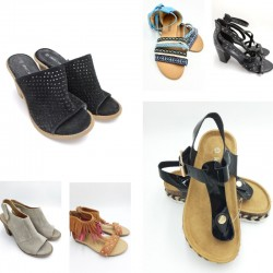Women's footwear fashion...