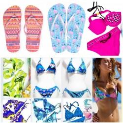 Bikini and Flip flop summer...