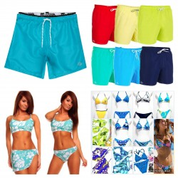 MIX MEN AND WOMEN SWIMSUITS