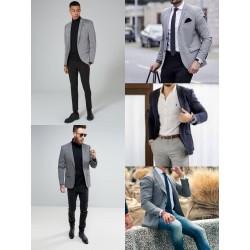 Blazer jaquetas Americanas Mix