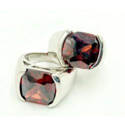 Ruby steel ring