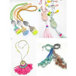 Collares Hippy chic