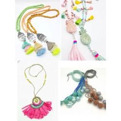 Necklaces Mix Hippy chic