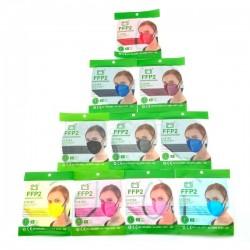 FFP2 Mask Colors CE