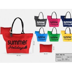 Beach bags with  necesser -...