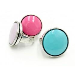 Colors Rhodium ring
