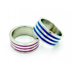 Lines Steel ring