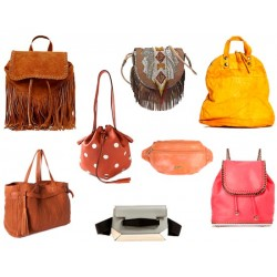 Eco Leather Backpack and...