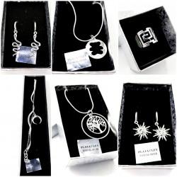 Necklaces Earrings Rings...