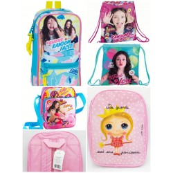 Backpacks and bags girl...