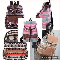 Ethnic fashion backpacks -...
