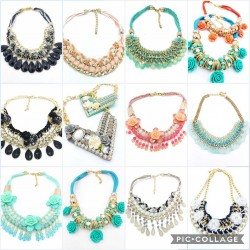 Romantic Ethnic Necklaces -...