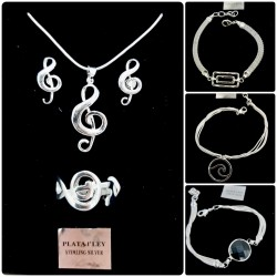 925 Silver jewelery -...