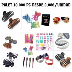 PALET ACCESORIOS DE PELO...
