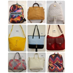 LOT OF FASHION BAGS AND...