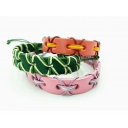 Nuevas pulseras de cuero -...