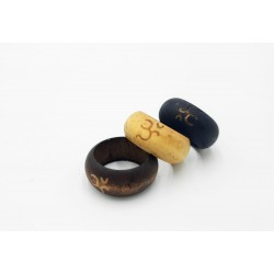 New wooden rings - Zen...