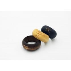 Nuevos anillos de madera -...