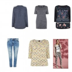 ROPA WOMAN MIX NEW 100