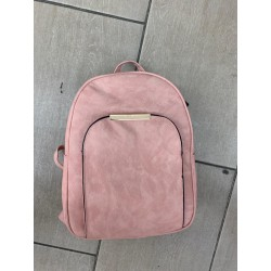 Fume Pink women's backpack