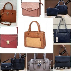 Lot of autumn dress bags