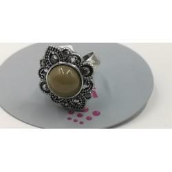 Anillo vintage piedra