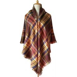 Blanket scarf Tartan XXL - MIX